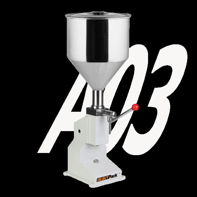 A03 manual filling machine heavypack