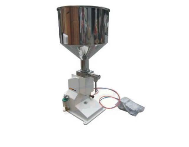 Mesin Pengisi Produk Cair Pasta Semi-Auto Seperti Mayonaise / Saus / Sambal / Minyak / Syrup / Shampoo dan Sabun Cuci