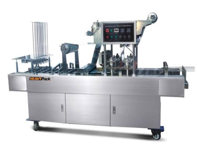 Mesin Pengisi Dan Sealing Otomatis Potong, Pengisi dan Segel Otomatis Yogurt / AMDK / Jelly And Other