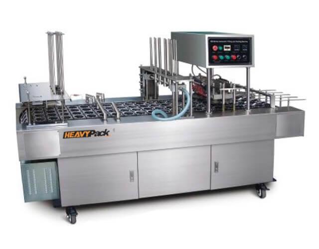 Mesin Cup Seal AMDK Otomatis Potong, Pengisi dan Segel Otomatis 4-8 Line