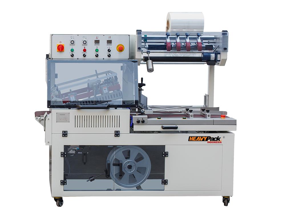 Mesin Automatic L-Type Sealing Machinet Plastik Kotak HP / Buku / Majalah