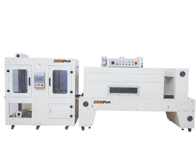 Automatic Sleeve Wrapper + PE Film Shrink Tunel DQX6040S+DSE8060A