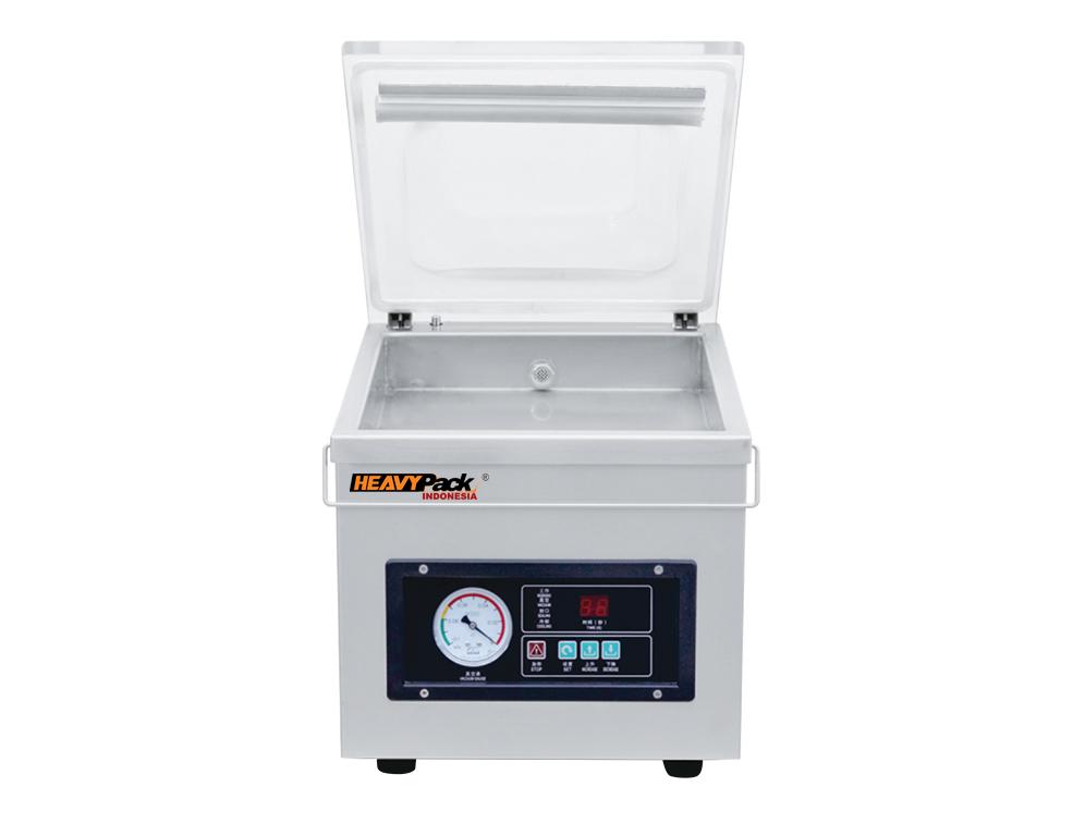 Mesin Vacuum Penyedot Udara Dalam Kemasan Atau Kedap Udara Untuk Pengemas Ikan / Kacang / Popcorn / Biji Kopi / Kacang / Buah DZ260-A3