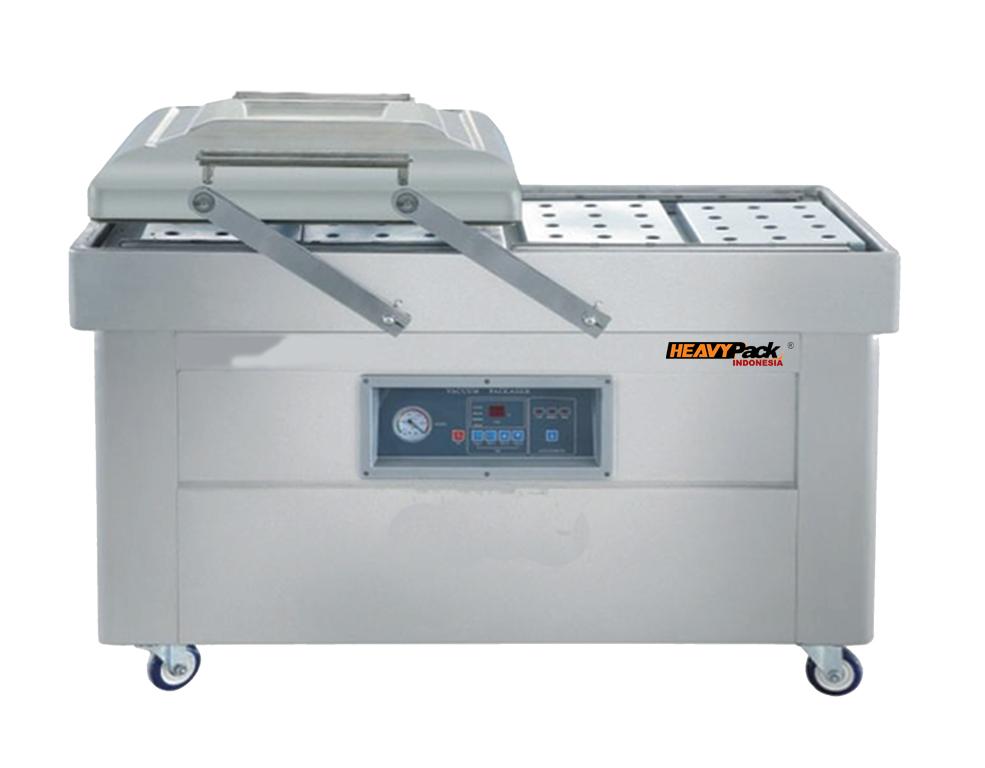 Mesin Vacuum Sealer Dengan Double Chamber DZ400-2SB