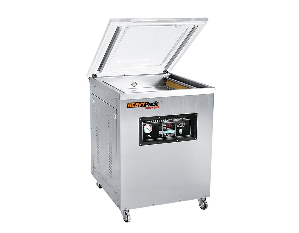 Mesin Vacuum Penyedot Udara Dalam Kemasan Atau Kedap Udara Untuk Pengemas Ikan / Kacang / Popcorn / Biji Kopi / Kacang / Buah DZ600-2E