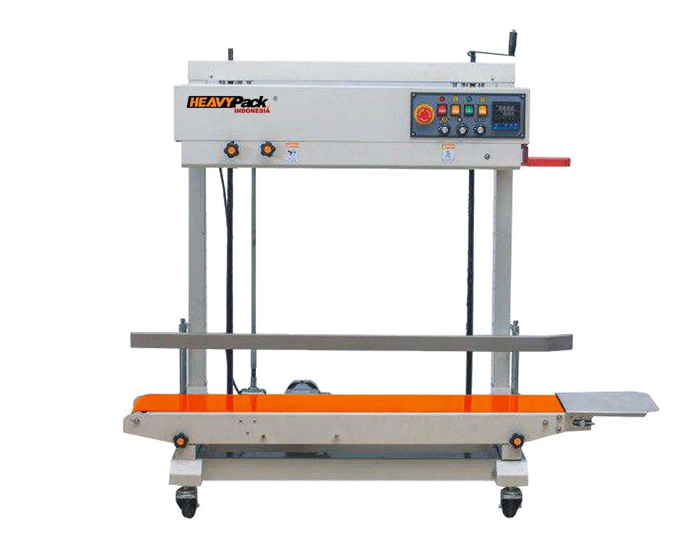 Mesin Seal makanan atau jajanan snack berukuran besar atau 5-15kg Vertikal FRD-1200PV
