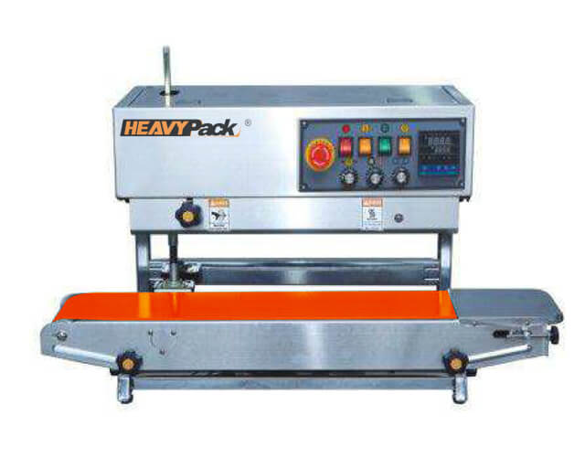 Continuous Band Sealer Vertikal
