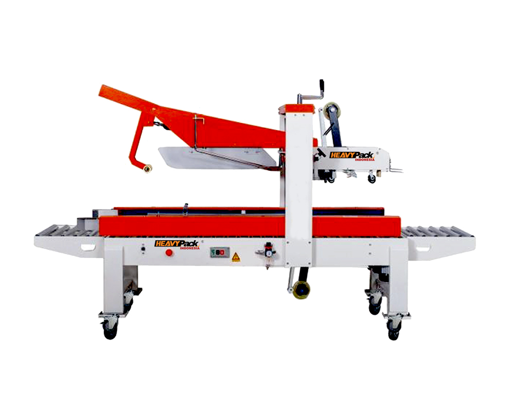 Mesin Carton Sealer Semi-Otomatis Pengemas Kardus dengan Lakban FXJ-5050Z