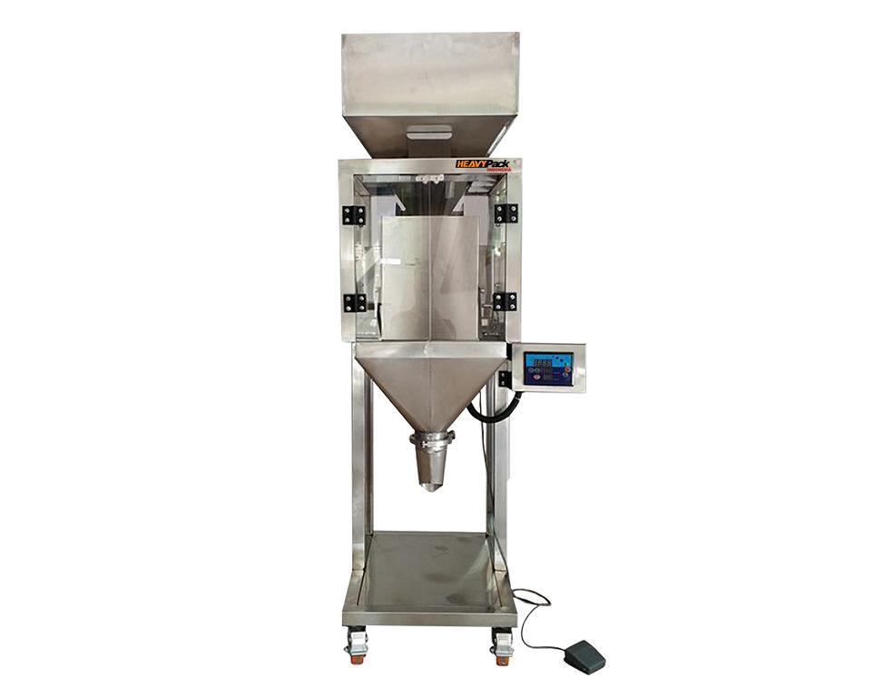 Mesin Weigher Penimbang Dan Pengisi Produk Granule Atau Bijian  FZ-5000