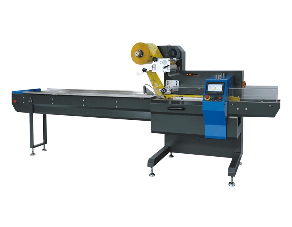 Mesin Pengemas High Speed Roti/Snack/Biskuit/Mie/Sabun Dan Lainnya Otomatis  HDL-250D