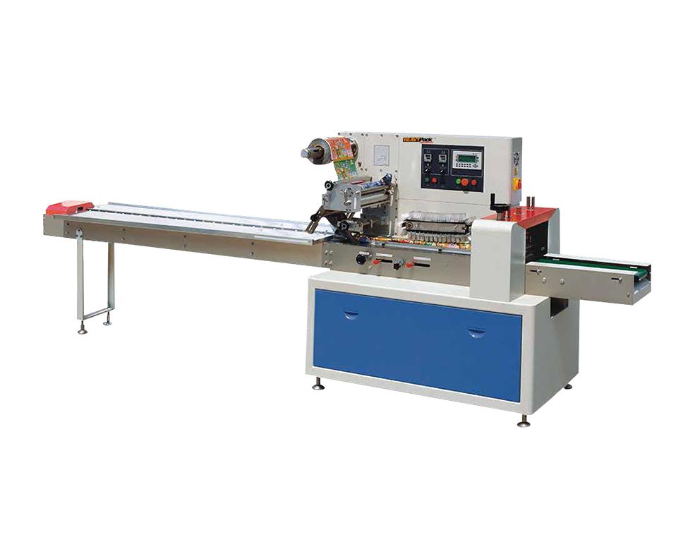 Mesin Pengemas High Speed Roti/Snack/Pie/Kerupuk/Biskuit/Mie/Sabun Dan Lainnya Otomatis  HDL-450