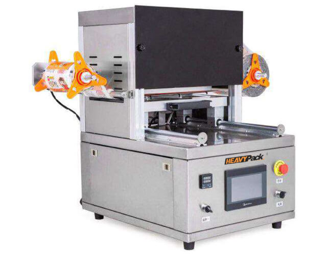 Table Type Tray sealer with gas filling (Mesin Pengemas Salad)