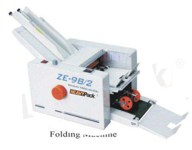 Mesin Lipat Kertas Otomatis ZE-9B2