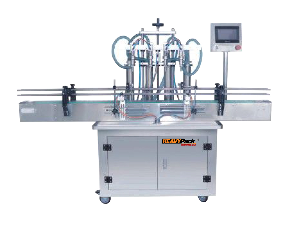 Mesin Pengisi Produk Cair Liquid Semi-Automatic Seperti Mayonaise / Saus / Sambal / Minyak / Syrup / Shampoo dan Sabun Cuci ZY-8